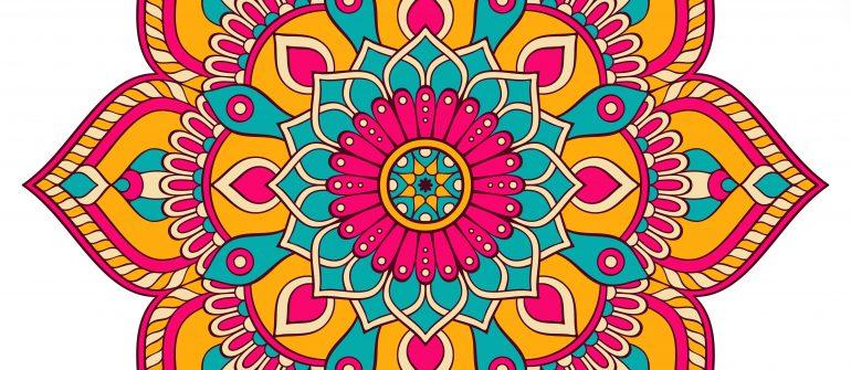 Mandalas Pintados Cuadros Mandalas De Madera Pintados A Mano Super