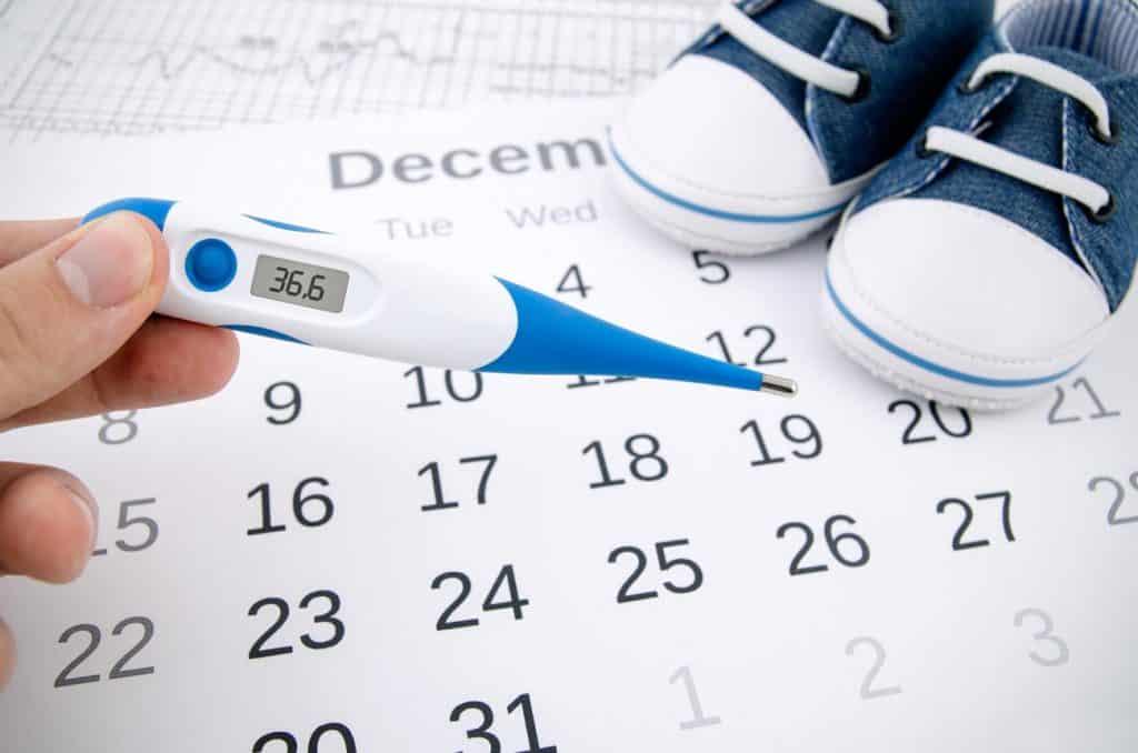 Días fértiles según la temperatura basal